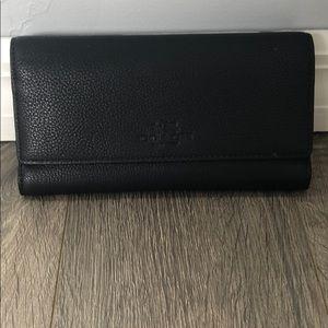 Women's navy blue coach wallet